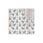 FabScraps - Christmas Snow Collection - 12 x 12 Double Sided Paper - Snow Stockings