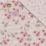 FabScraps - My Fair Lady Collection - 12 x 12 Double Sided Paper - Lady Flora
