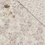 FabScraps - My Fair Lady Collection - 12 x 12 Double Sided Paper - Lady Evelyn