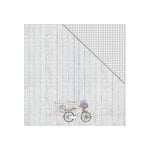 FabScraps - Lavender Breeze Collection - 12 x 12 Double Sided Paper - Simplicity