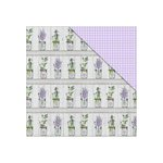 FabScraps - Lavender Breeze Collection - 12 x 12 Double Sided Paper - Love Dream