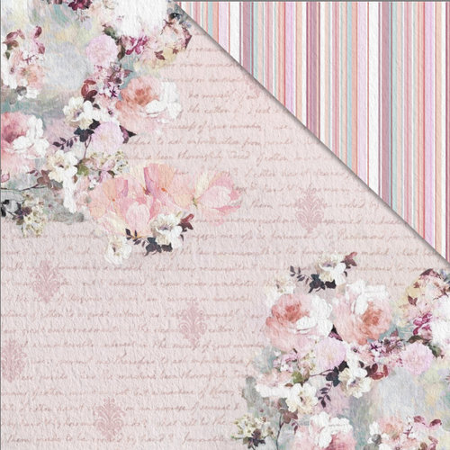 FabScraps - Charms of Spring Collection - 12 x 12 Double Sided Paper - Charming Days