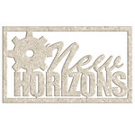 FabScraps - Dream Steam Collection - Die Cut Words - New Horizons