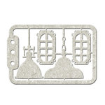 FabScraps - Dream Steam Collection - Die Cut Chipboard - Lamps