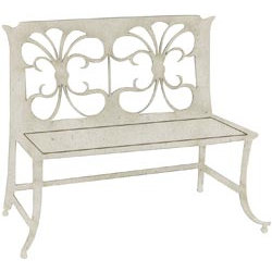 FabScraps - Shabby Chic Collection - Die Cut Embellishments - Garden Bench