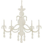 FabScraps - Shabby Chic Collection - Die Cut Embellishments - Chandelier