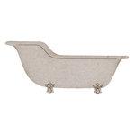 FabScraps - Vintage Baby Collection - Die Cut Embellishments - Vintage Bath Tub