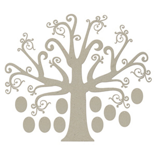 FabScraps - Classic Collection - Die Cut Embellishments - Tree