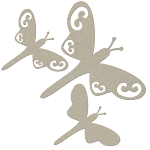 FabScraps - Classic Collection - Die Cut Embellishments - Dragonfly