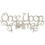 FabScraps - Classic Collection - Die Cut Words - Once Upon a Time