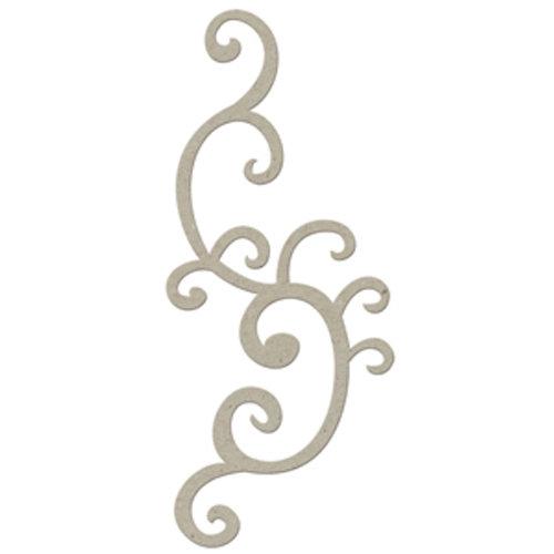 FabScraps - Organic Collection - Die Cut Embellishments - Organic Twirl