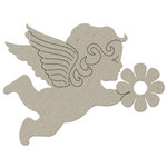 FabScraps - Organic Collection - Die Cut Embellishments - Cherub
