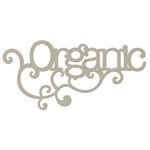 FabScraps - Organic Collection - Die Cut Words - Organic