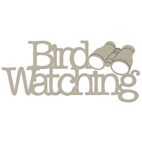 FabScraps - Organic Collection - Die Cut Words - Bird Watching