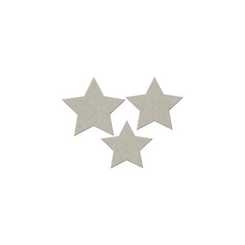 FabScraps - Summer Collection - Die Cut Embellishments - Stars