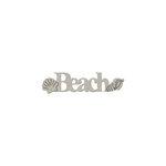 FabScraps - Summer Collection - Die Cut Words - Beach