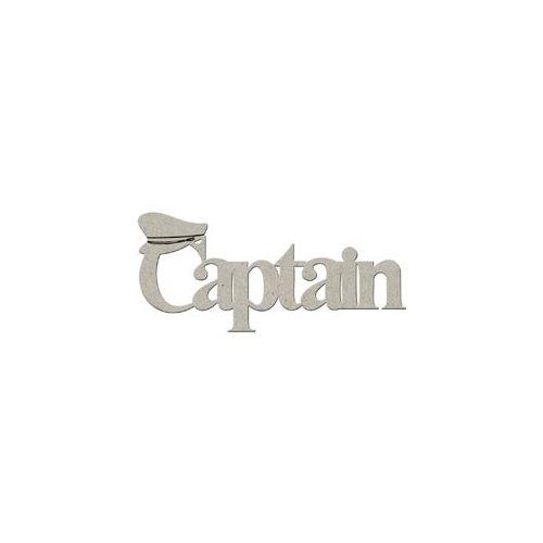 FabScraps - Summer Collection - Die Cut Words - Captain