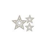 FabScraps - Christmas Collection - Die Cut Embellishments - Christmas Star