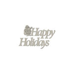 FabScraps - Christmas Collection - Die Cut Words - Happy Holidays