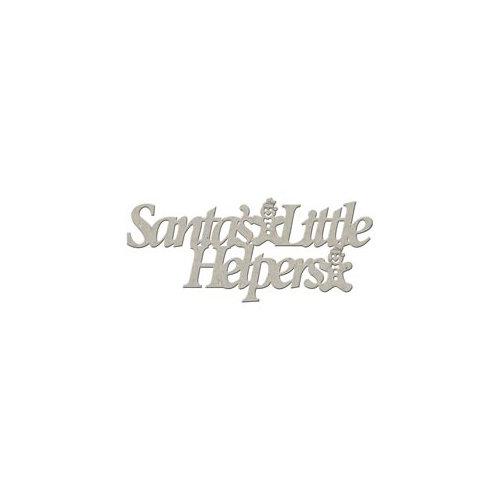 FabScraps - Christmas Collection - Die Cut Words - Santa's Little Helpers