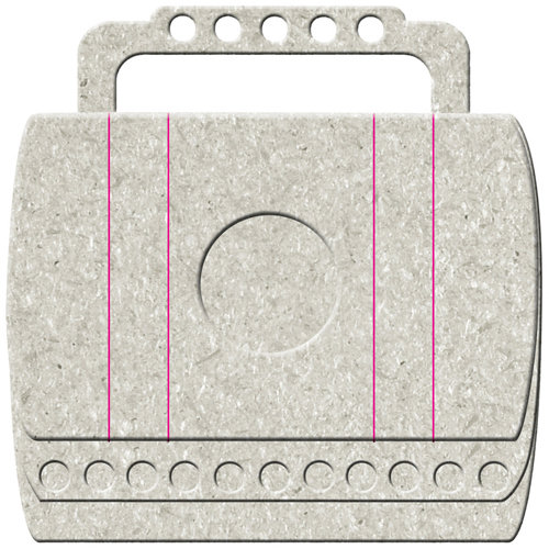 FabScraps - Adrenaline Collection - Die Cut Albums - Satchel Bag