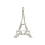 FabScraps - Romantic Travel Collection - Die Cut Embellishments - Eiffel Tower