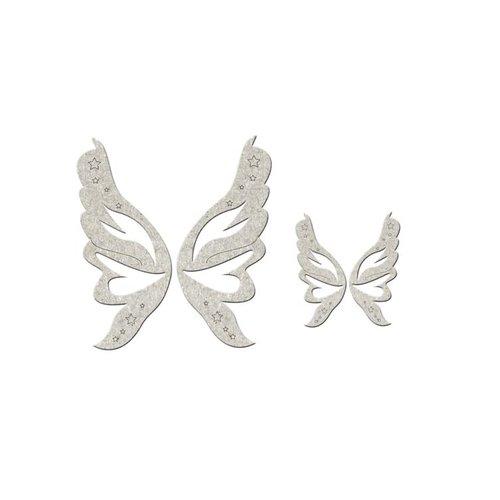 FabScraps - Little Peeps Collection - Die Cut Embellishments - Fairy Wings