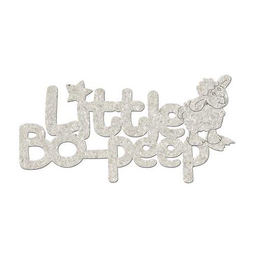FabScraps - Little Peeps Collection - Die Cut Words - Little Bo-Peep