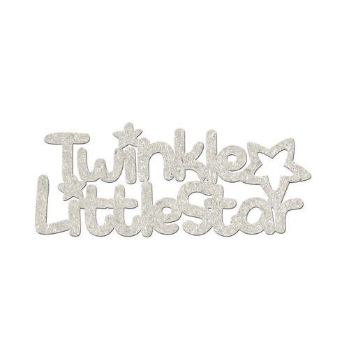 FabScraps - Little Peeps Collection - Die Cut Words - Twinkle Little Star