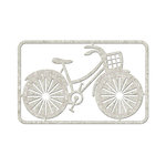 FabScraps - Love 2 Travel Collection - Die Cut Embellishments - Bicycle