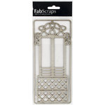FabScraps - Tranquility Collection - Die Cut Embellishments - Window Box