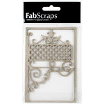 FabScraps - Country Kitchen Collection - Die Cut Embellishments - Filigree Sign 1