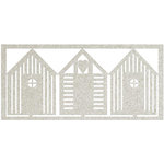 FabScraps - Beach Bliss Collection - Die Cut Embellishments - Beach Houses
