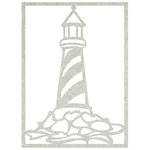 FabScraps - Beach Bliss Collection - Die Cut Embellishments - Lighthouse