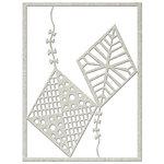 FabScraps - Kaleidoscope Collection - Die Cut Embellishments - Kites