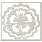FabScraps - Kaleidoscope Collection - Die Cut Embellishments - Flower