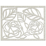 FabScraps - Vintage Elegance Collection - Die Cut Embellishments - Roses and Leaves