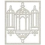 FabScraps - Vintage Elegance Collection - Die Cut Embellishments - Vintage Lanterns