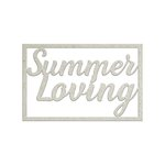 FabScraps - Summer Loving Collection - Die Cut Words - Summer Loving
