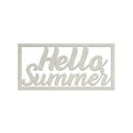 FabScraps - Summer Loving Collection - Die Cut Words - Hello Summer