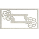 FabScraps - My Fair Lady Collection - Die Cut Chipboard - Filigree Key