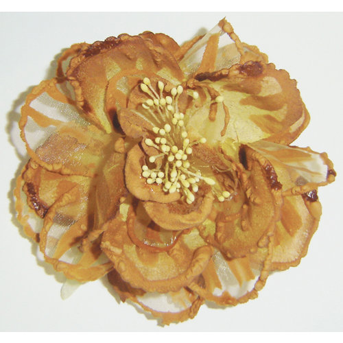 FabScraps - Silk Flowers - Large - Gold