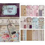 FabScraps - Heritage Collection - Die Cut Journaling Tags