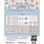 FabScraps - Summer Loving Collection - Card Kit