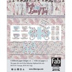 FabScraps - For The Love Of Tea Collection - Card Kit