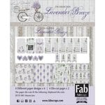 FabScraps - Lavender Breeze Collection - Card Kit