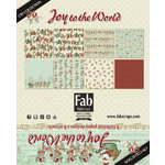 FabScraps - Joy To The World Collection - Christmas - Card Kit