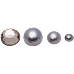 FabScraps - Pearls - Bling - Silver