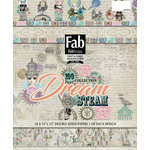 FabScraps - Dream Steam Collection - 12 x 12 Paper Pad