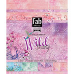 FabScraps - Wild Beauty Collection - 12 x 12 Paper Pad